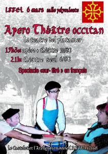 AFFICHE Theatre couleur